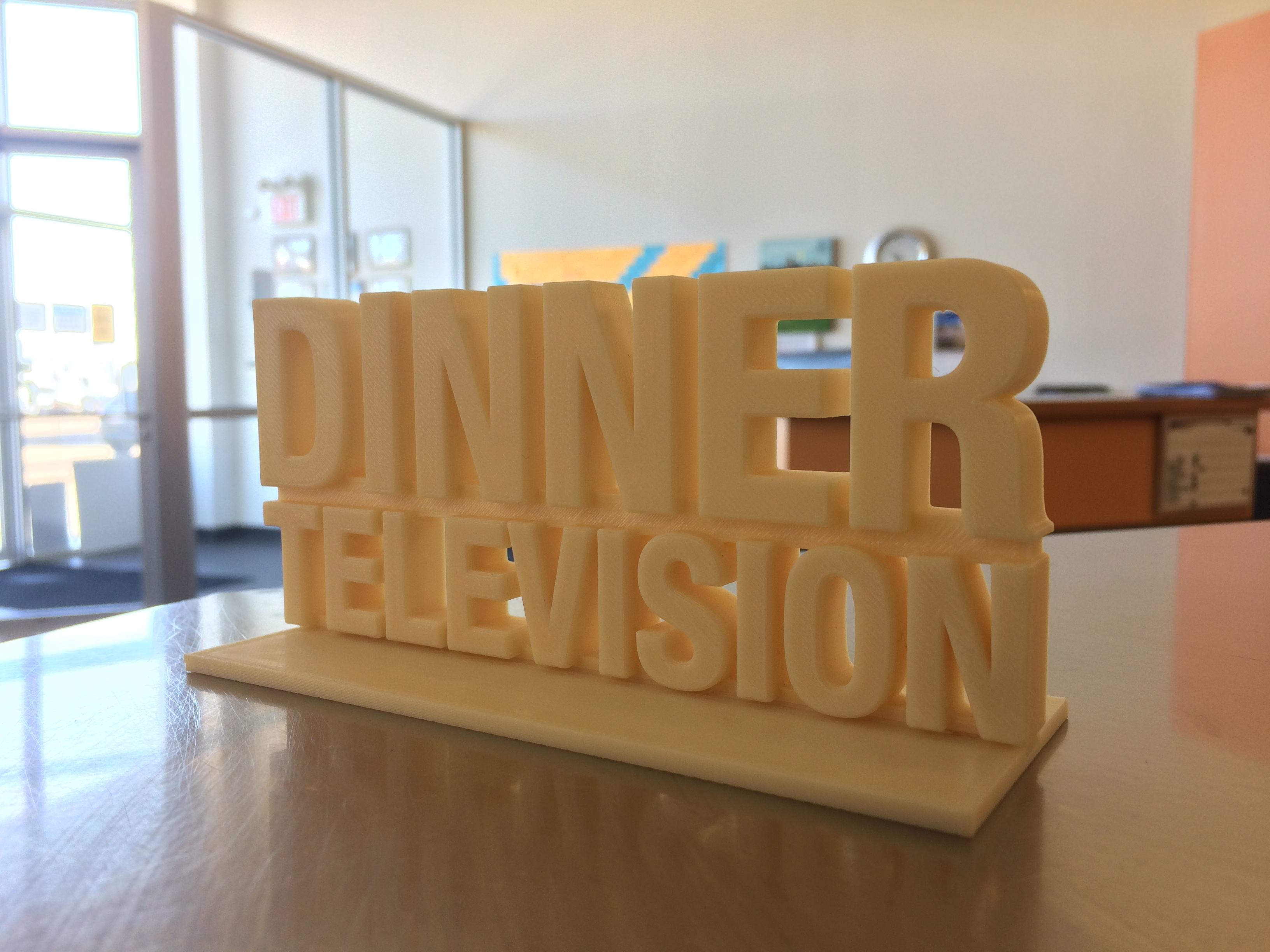 Dinner Television Logo