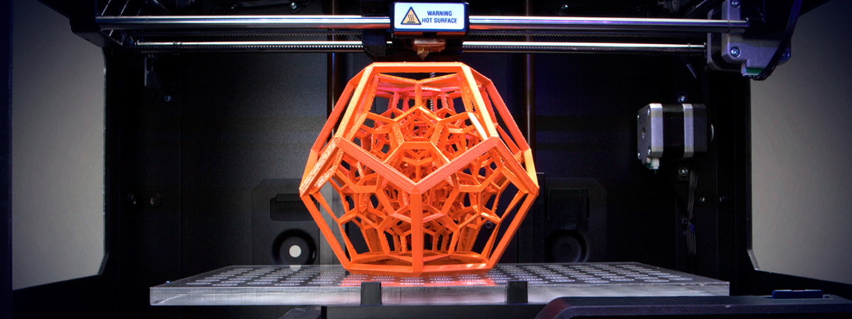 3D Printed geometry. Soluble support technology allows the most intricate and complex designs to be manifested. 3D Print Western's Fortus 900MC has large FDM 3D Printing capabilities to bring your biggest parts to life.